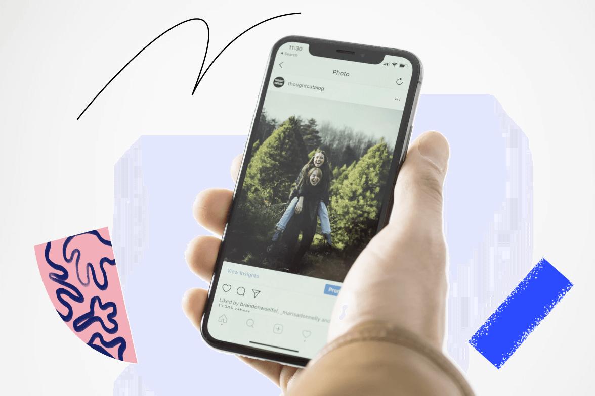 How do i post on Instagram - Galaxy Marketing